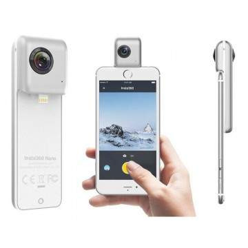 Insta360 Nano, Kamera VR 360 Derajat Khusus iPhone