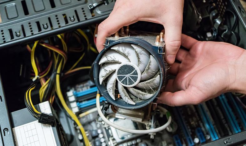 penyebab temperatur PC panas