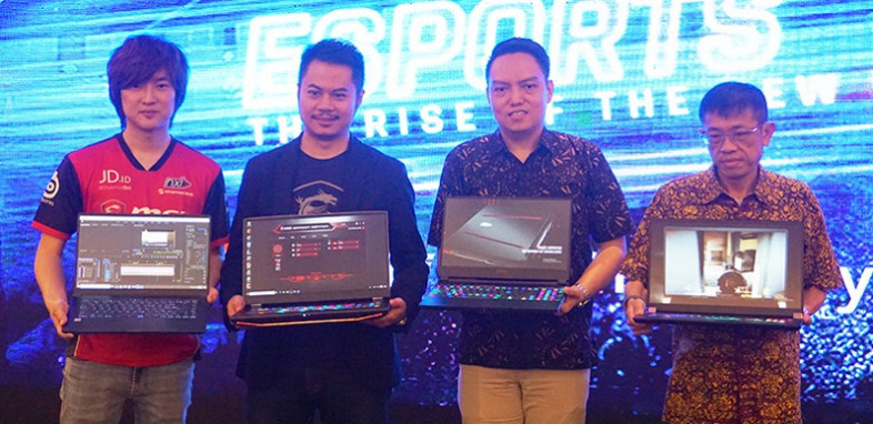Laptop Gaming MSI terbaru