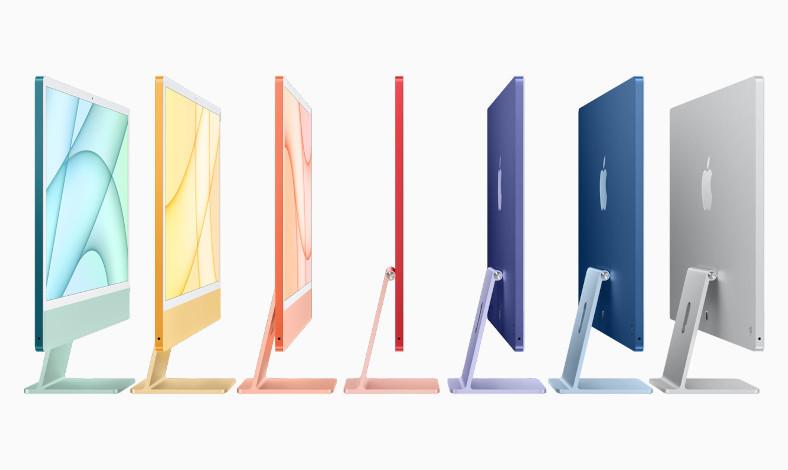 iMac Baru Resmi Debut, Dibekali Chip M1 dengan 7 Warna Stylish-0