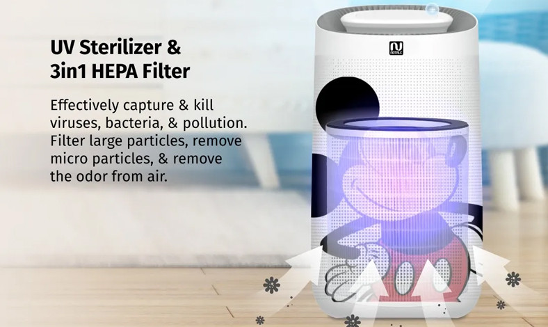 Notale Air Purifier Disney Mickey Edition