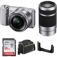 Sony Alpha A5000 Kit 16-50mm + 55-210mm