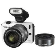 Canon EOS M Kit 18-55mm + 22mm + S90EX