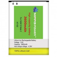 HIPPO Battery For Samsung Galaxy Note2 3600mAh
