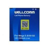 Wellcomm Battery For Samsung Galaxy Mega