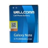 Wellcomm Battery For Samsung Galaxy Note 1