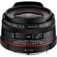 Pentax HD DA 15mm f / 4 ED AL