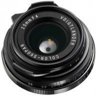 Voigtlander 25mm f / 4.0 Pancake Lens
