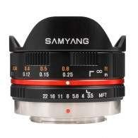 Samyang 7.5mm T3.8 Fisheye VDSLR