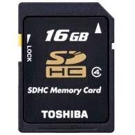 Toshiba SDHC 16GB Class 4 K16GR7W4