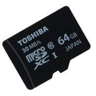 Toshiba microSDHC Class 10 30MB / s - 64GB