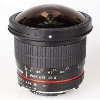 Samyang 8mm f / 3.5 Aspherical IF MC Fisheye CS II