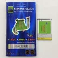 HIPPO Battery for Blackberry 9790 2000mAh