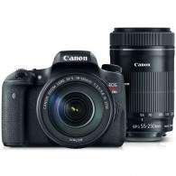 Canon EOS Rebel T6s Kit 18-135mm + 55-250mm