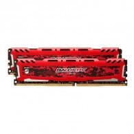 Crucial Ballistix Sport LT Red 4GB DDR4-2400 UDIMM