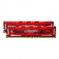 Crucial Ballistix Sport LT Red 16GB DDR4-2400 UDIMM