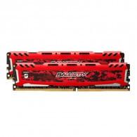 Crucial Ballistix Sport LT Red 16GB DDR4-2666 UDIMM
