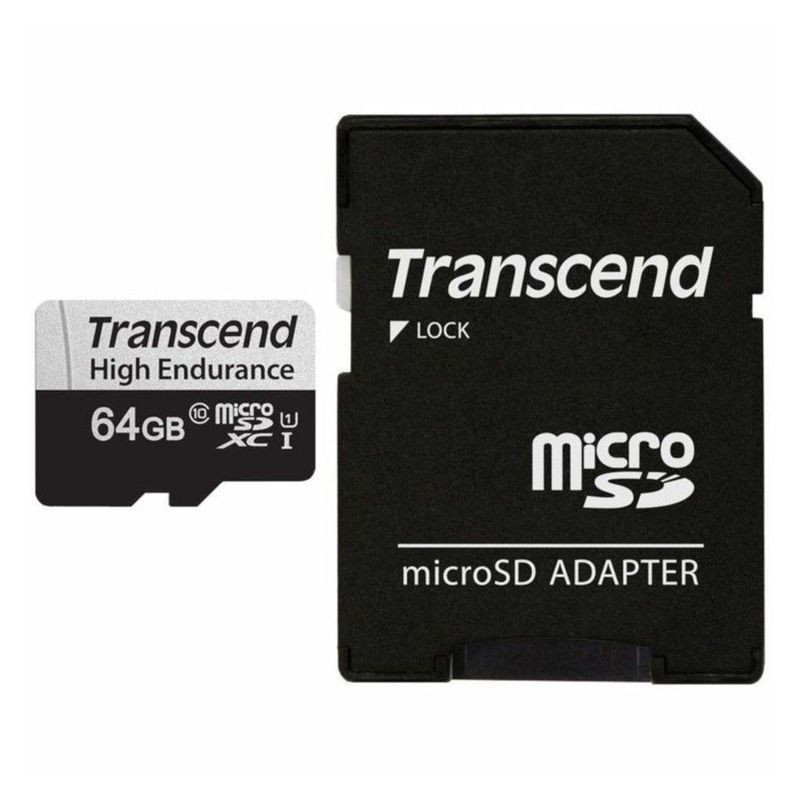 Transcend UHS-I MicroSDXC 350V 64GB