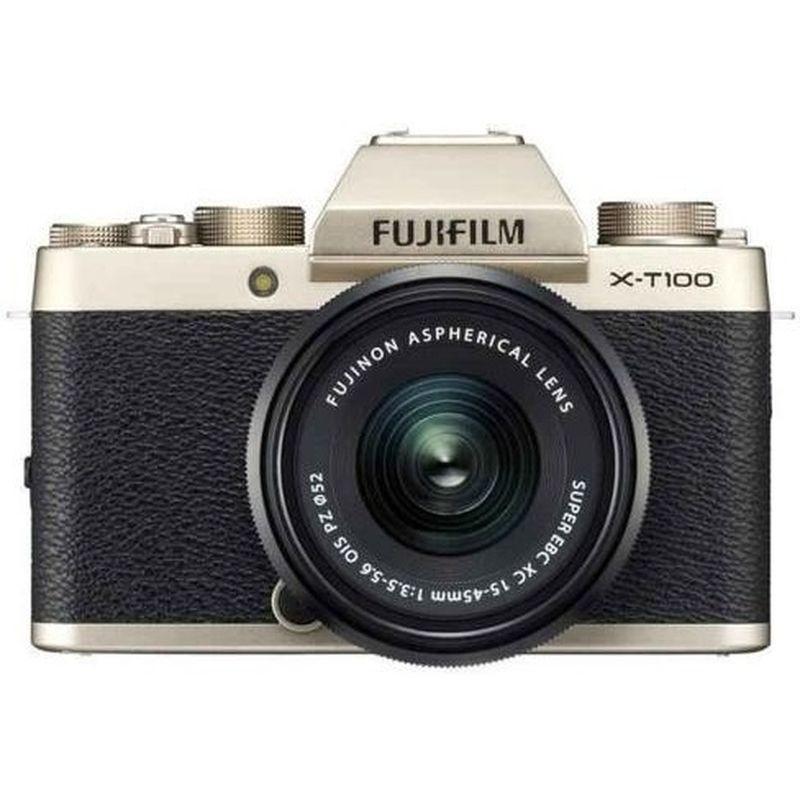 Fujifilm X-T100 kit 15-45mm + 35mm