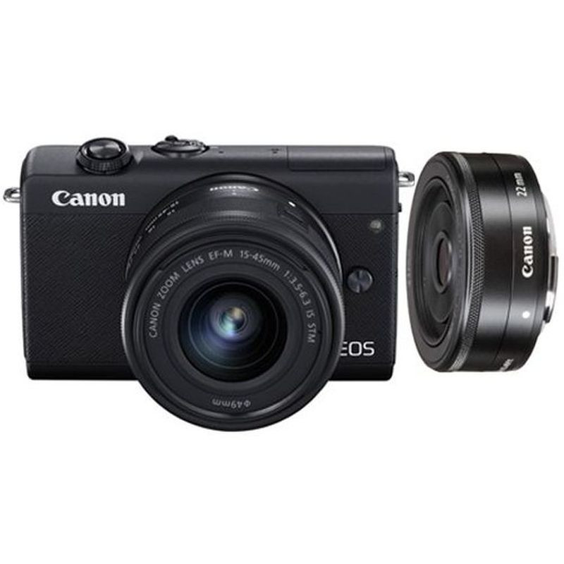 Canon EOS M200 Kit 15-45mm + 22mm